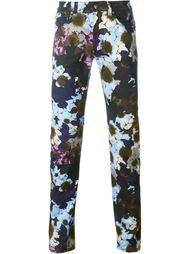 джинсы 'Flowerflage' Versace