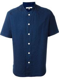 рубашка с полосатым узором YMC