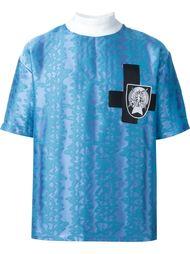 жаккардовая футболка  Liam Hodges