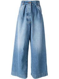 широкие джинсы  Off-White