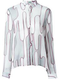 рубашка 'Abstract Cactus' Kenzo