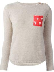 свитер с нагрудным карманом  Chinti And Parker