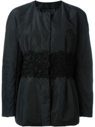 куртка с вышивкой  Moncler Gamme Rouge