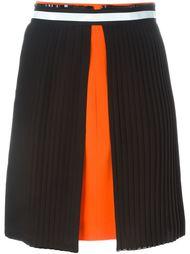 юбка в стиле колор-блок  Versace