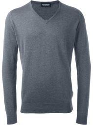 свитер c V-образным вырезом  John Smedley