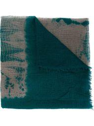 шарф с принтом тай-дай Suzusan