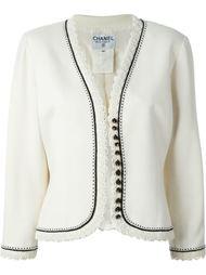 пиджак декорированный позументом Chanel Vintage