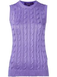 топ без рукавов Ralph Lauren Purple