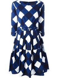 платье в клетку  Samantha Sung