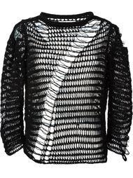 свитер открытой вязки Maison Margiela