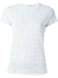 футболка с абстрактным принтом  Rag & Bone /Jean