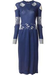 вязаное платье в рубчик  Maison Margiela