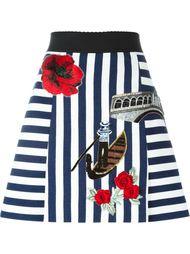 юбка с вышивкой Venice Dolce & Gabbana