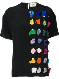футболка с разноцветной аппликацией  Ports 1961