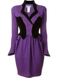 платье дизайна колор-блок Thierry Mugler Vintage