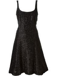 платье с эффектом мишуры Stephen Sprouse Vintage
