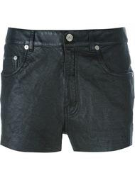 шорты с джинсовым эффектом Saint Laurent