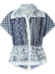 блузка с баской Wunderkind