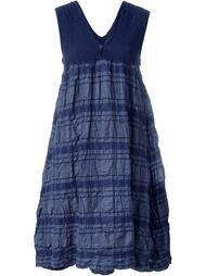 полосатое фактурное платье Issey Miyake Cauliflower