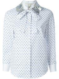 рубашка с мелким узором Marc Jacobs
