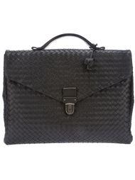плетёный портфель Bottega Veneta