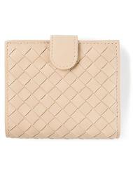плетёный кошелёк Bottega Veneta