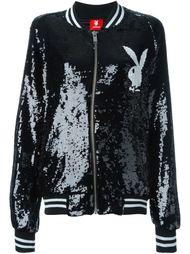 куртка-бомбер с пайетками Joyrich