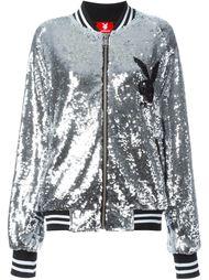 куртка-бомбер с пайетками 'Playboy' Joyrich