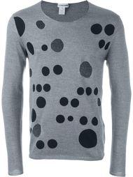 свитер с вырезными деталями Comme Des Garçons Shirt