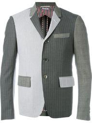пиджак колор-блок  Thom Browne