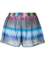 шорты в стиле кроше Missoni