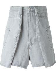 джинсовые шорты Christopher Shannon