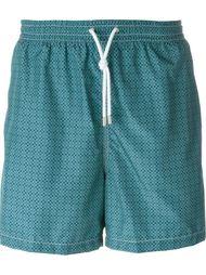 шорты для плавания с принтом Kiton