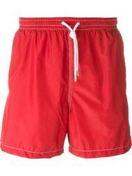 шорты для плавания с контрастной окантовкой  Kiton
