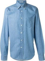джинсовая рубашка  Gant Rugger