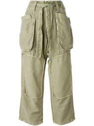 брюки с накладными карманами Nlst