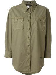рубашка с нагрудным карманом  Nlst