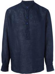 рубашка с воротником-стойкой Giorgio Armani