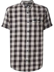 checked short sleeve shirt Neuw
