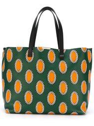 сумка-тоут с этническим принтом Victoria Beckham