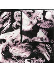 шарф с принтом львов Roberto Cavalli
