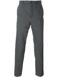 брюки в диагональную полоску Y / Project