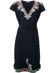 платье c V-образным вырезом  Vilshenko