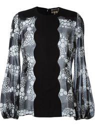 блузка с принтом  Giambattista Valli