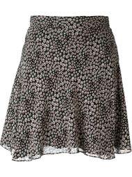 юбка с принтом  Saint Laurent