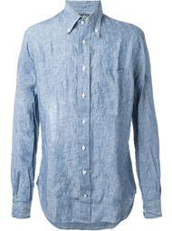 рубашка с мятым эффектом  Gitman Vintage