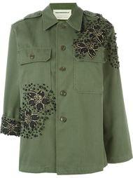 пиджак с цветочной аппликацией Night Market