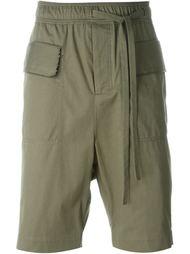 шорты с эластичным поясом Damir Doma