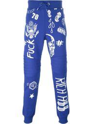спортивные брюки 'Number One'  Philipp Plein