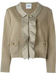 пиджак с рюшами Moschino Vintage